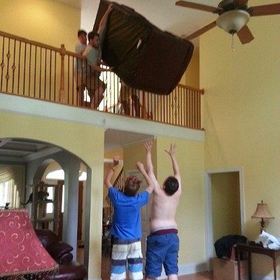 Couch Moving Fail