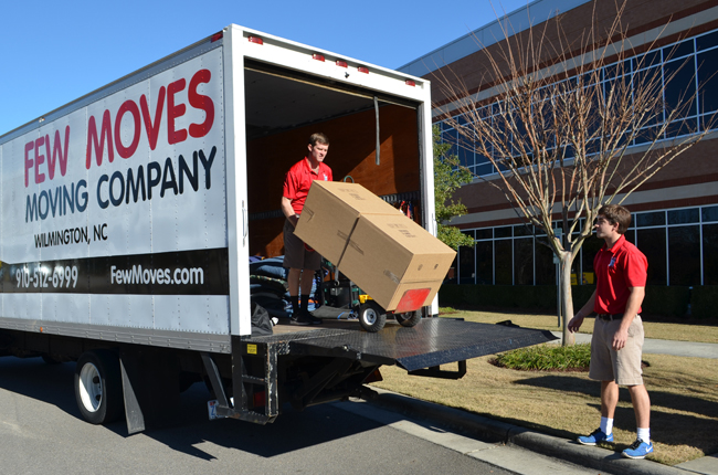 Wilmington NC Business Movers – Commercial Moving Company