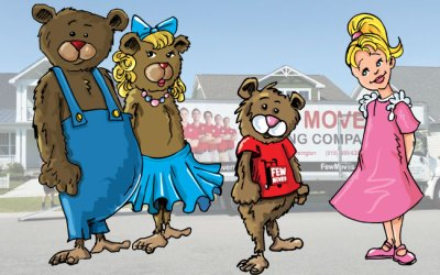 Goldilocks and the Three Moving Companies