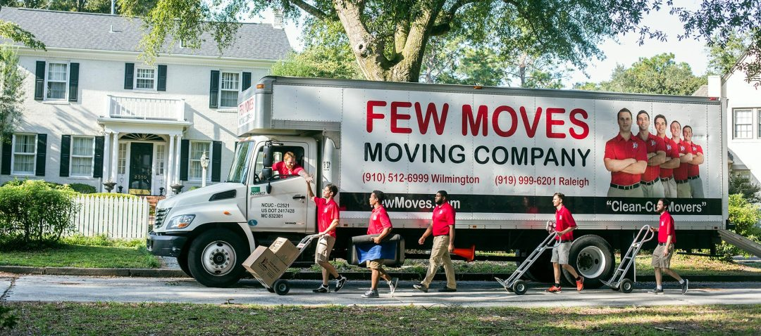 Wilmington NC Moving Company   Few Moves