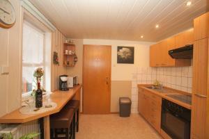 Offene Küche Ferienwohnung zum Ruppberg