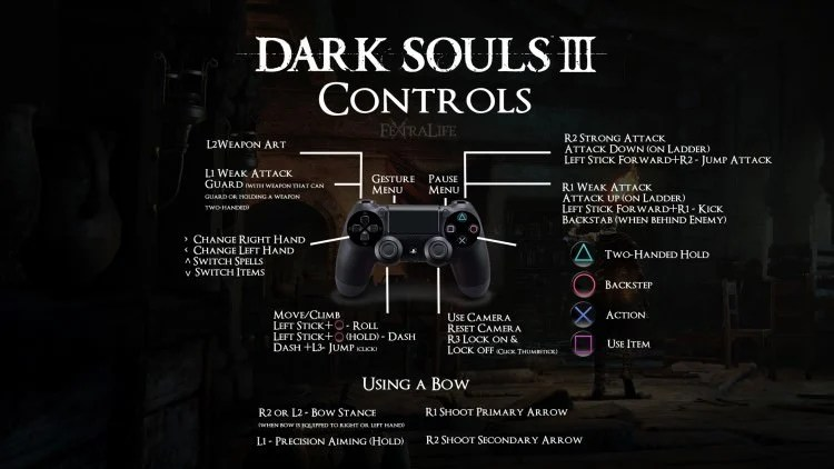 Dark Souls 3 Controls Revealed Fextralife