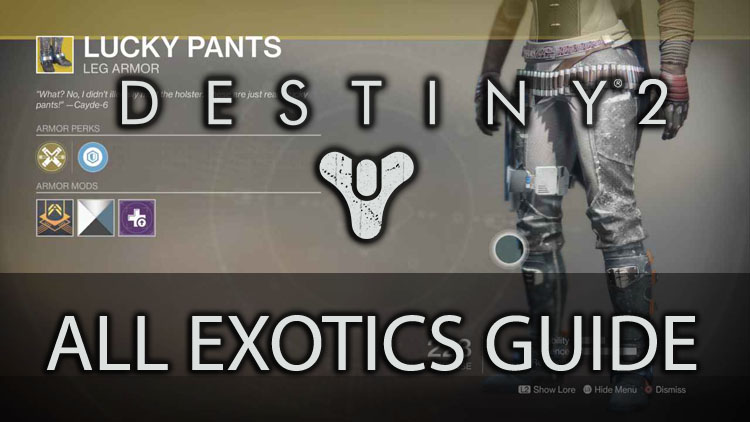 All Exotics In Destiny 2 And How To Get Them Fextralife