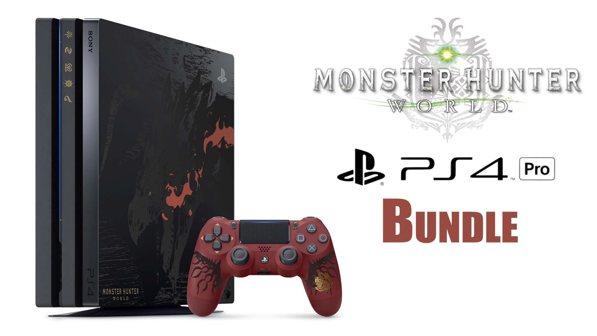Check Out The Monster Hunter World PS4 Pro Liolaeus Edition Bundle TGS 2017 Fextralife
