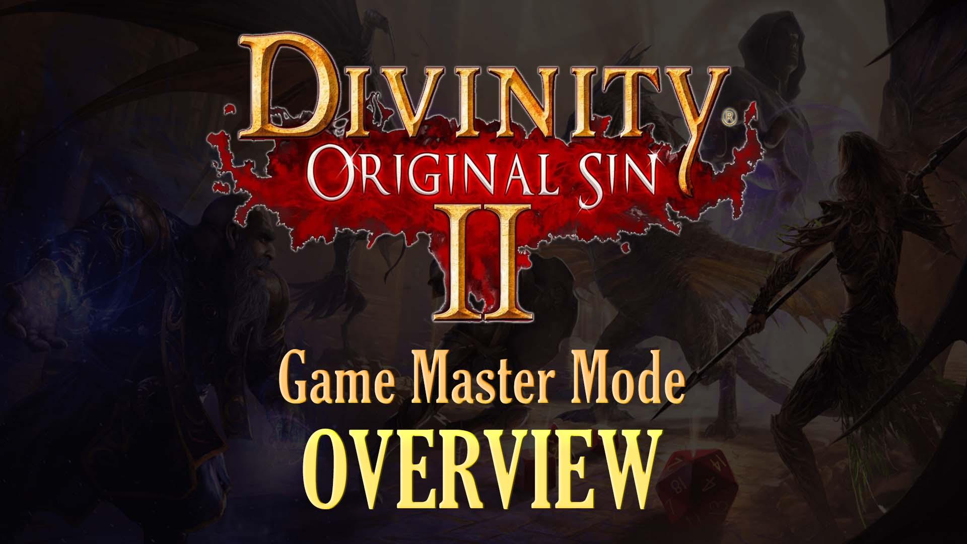 Divinity Original Sin 2 Game Master Mode Fextralife