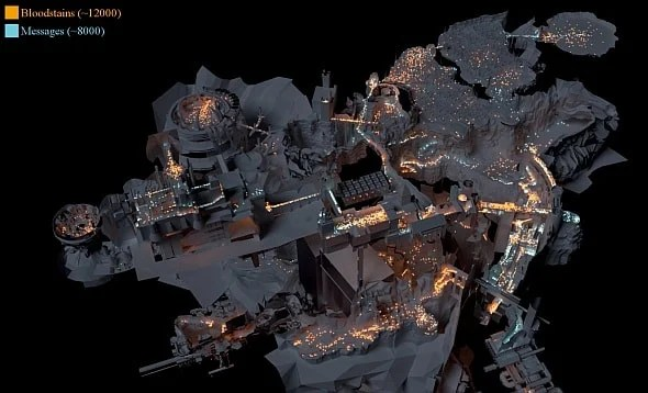 Souls Map 3d Dark