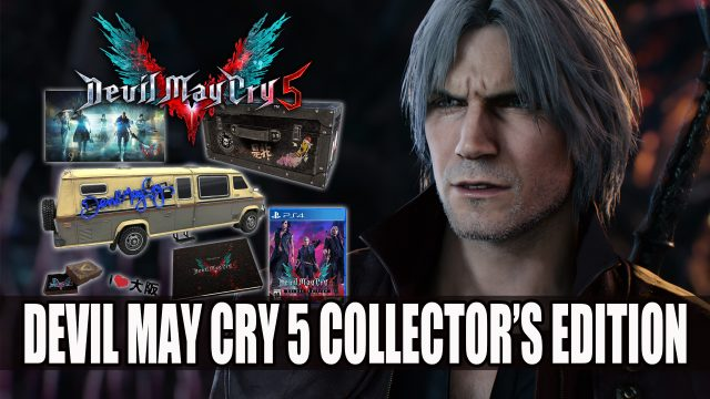 Devil May Cry 5 Collectors Edition Now Listed On Amazon