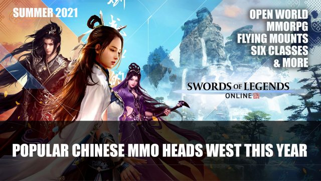 One of the largest Chinese MMOs Heads of Legends West swords Online