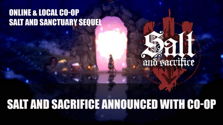 Sacrifice and when they announced the sequel to the salt and Sanctuary Co-op