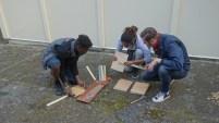 Construction des panneaux