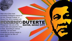 Davao's Beloved Mayor is running for President