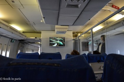 It's amazing how much more comfortable economy class used to be.