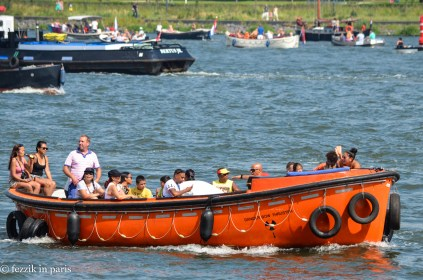 Lifeboats were a popular choice.