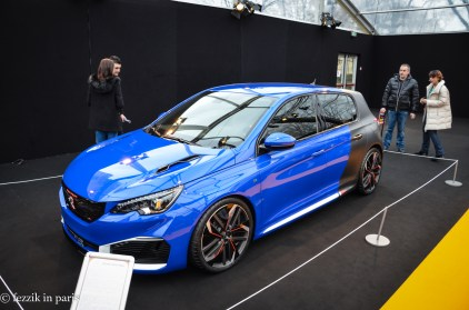 This (Peugot 308r) was actually fairly nice looking; it's tragic that the hot hatch market is so limited in the States.