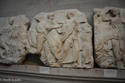 Lord Elgin's handiwork (ripped from the Parthenon).