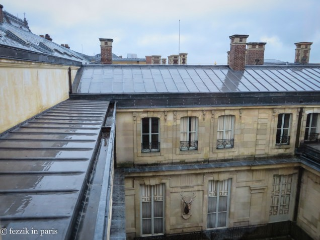 The back of Madame du Barry's appartement.