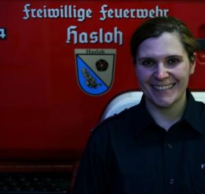 Jugendwartin Christina Schwenke