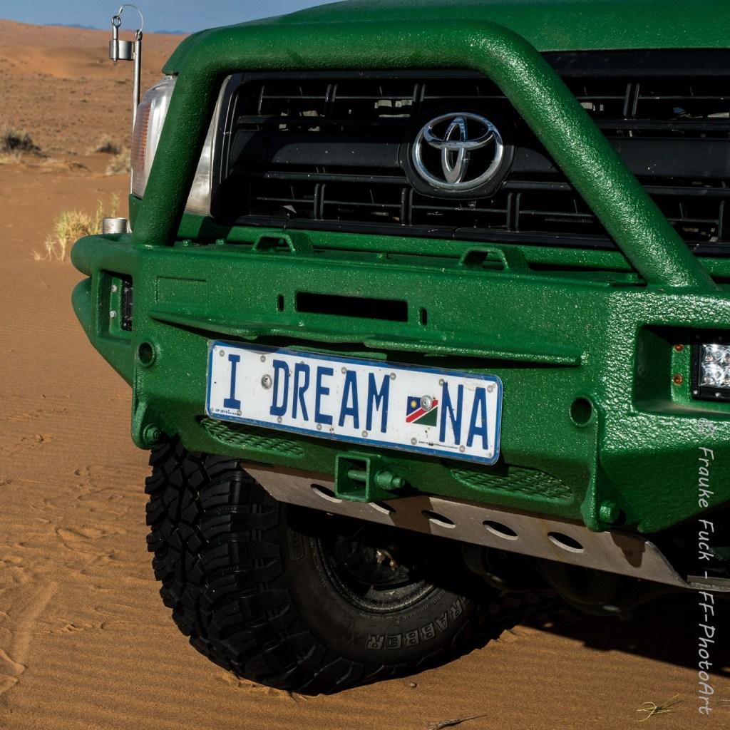 I dream Namibia