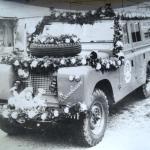 1959 wurde ein BLF Land Rover mit Vorbaupumpe und ein Anhänger mit  einer TS 8 in den Dienst gestellt