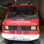 2009 wurde ein gebrauchtes KLFA Marke Mercedes 310A angeschafft
