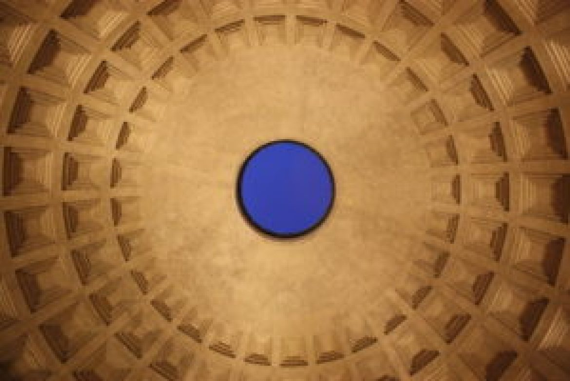 052 Roman_Pantheon_-_dome_by_night