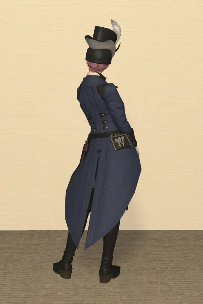 裁縫師Lv50:ウィーバー装備 背面