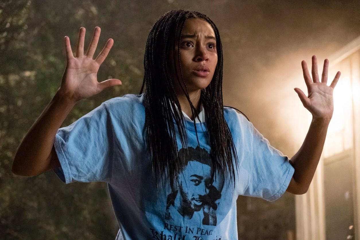 Amandla Stenberg stars in Twentieth Century Fox's THE HATE U GIVE.