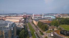 Bra utsikt från hotellet