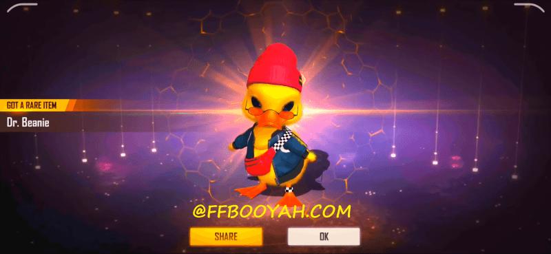 Free Fire Dr. Beanie Duck Pet