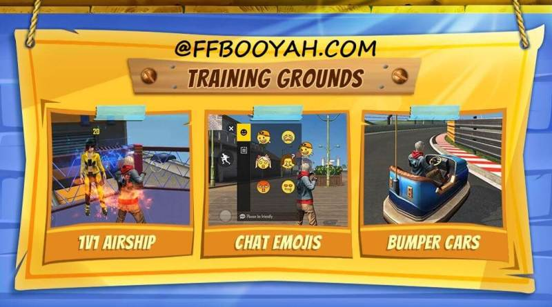 Free Fire OB28 Training Grounds