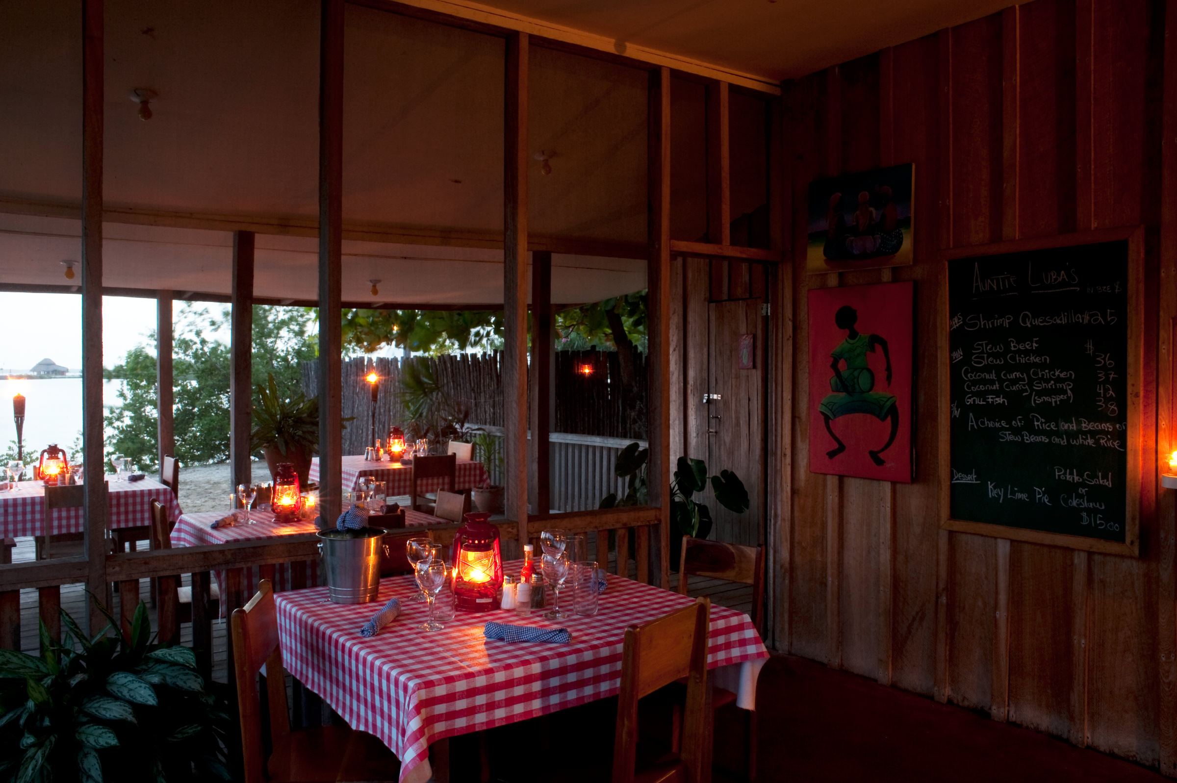 Belize Cuisine Belize Traditional Food Auntie Lubas Kitchen At Turtle Inn