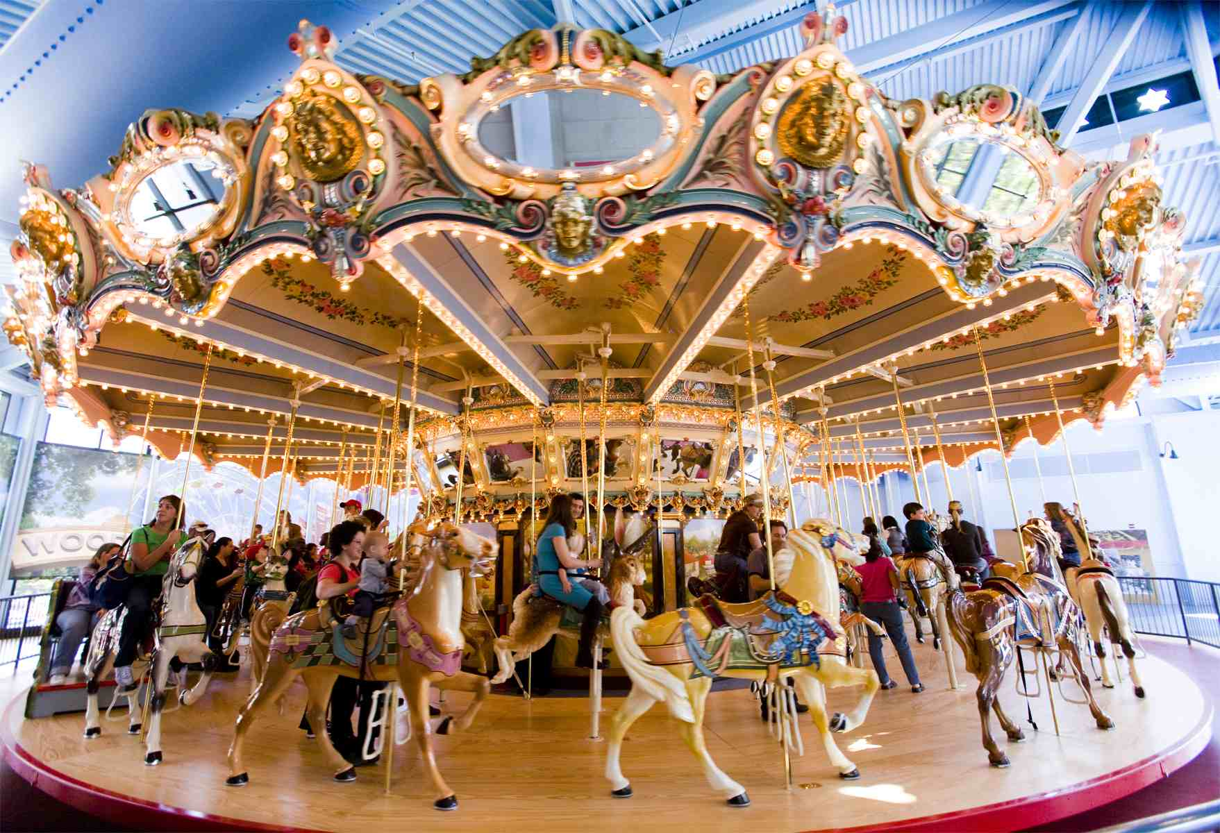 Image result for carousel rides