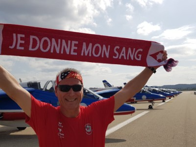 Bouches-du-Rhône : Marathon de salon de Provence «Patrouille de France 2019»