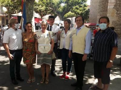 Pyrénées-Orientales : 2 bénévoles mis à l'honneur de façon exceptionnelle