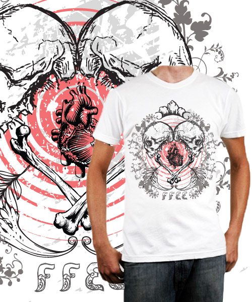 Show your heart tshirt