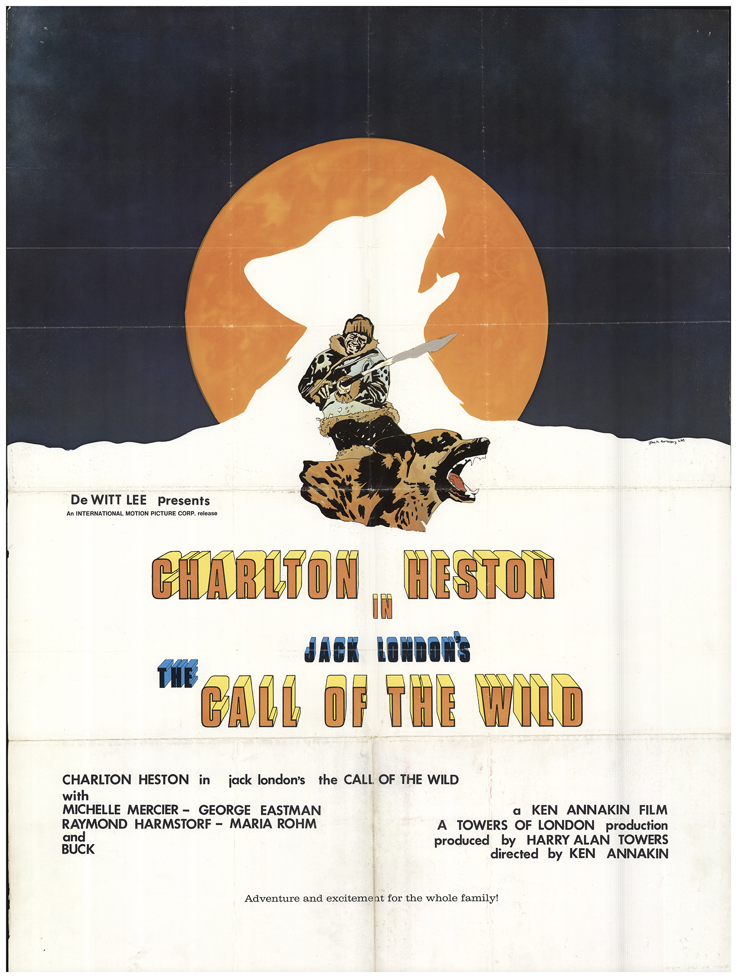 Call Of The Wild The Original Movie Poster Fff