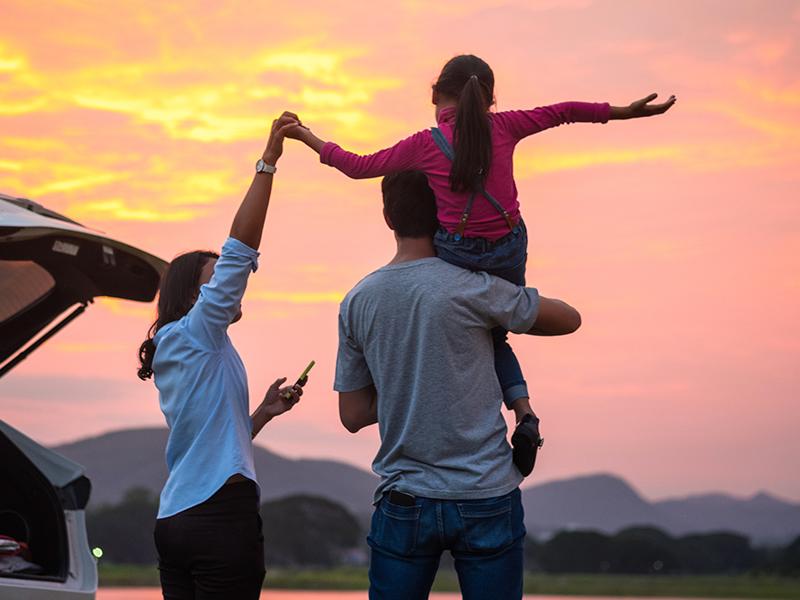 family trip insured