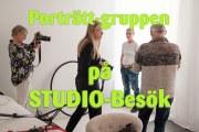 Studio-besök med Porträttgruppen
