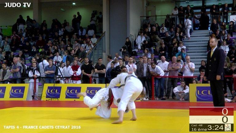 judo tv tapis 4 enredada