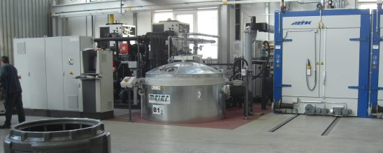 Conventional VPI Vacuum Pressure impregnation and curing oven