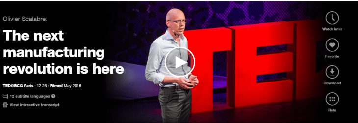 Olivier Scalabre talk in Ted