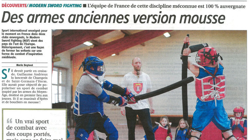 Article La Montagne - avril 2017
