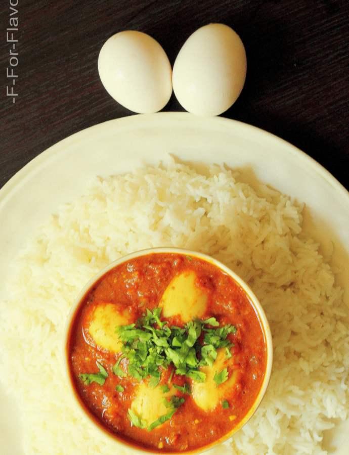 Egg Gravy / Masala