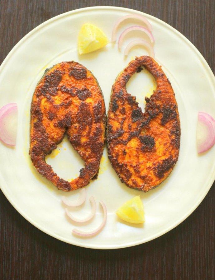 Vanjaram Fish Fry, Chettinad Fish Fry