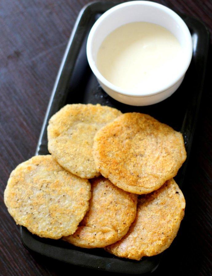 Cheese Potato Pancakes