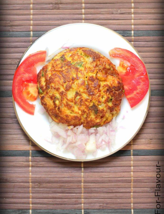 Prawn Karandi Omelette