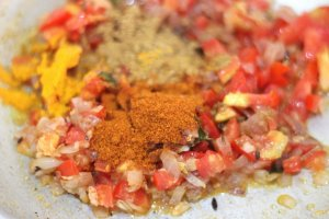 egg curry spice powders