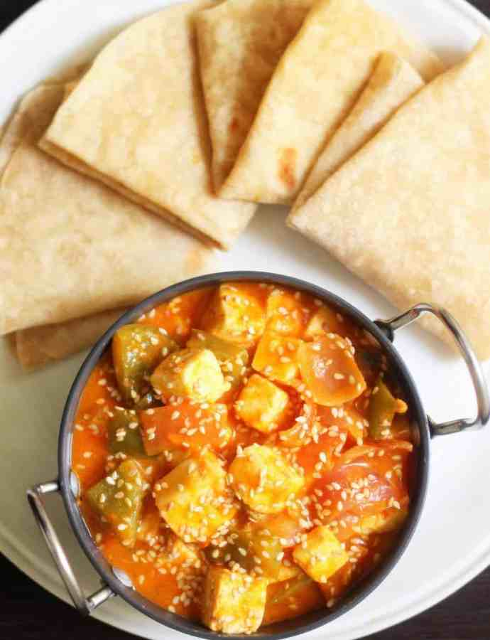 Honey Toasted Paneer with Sesame