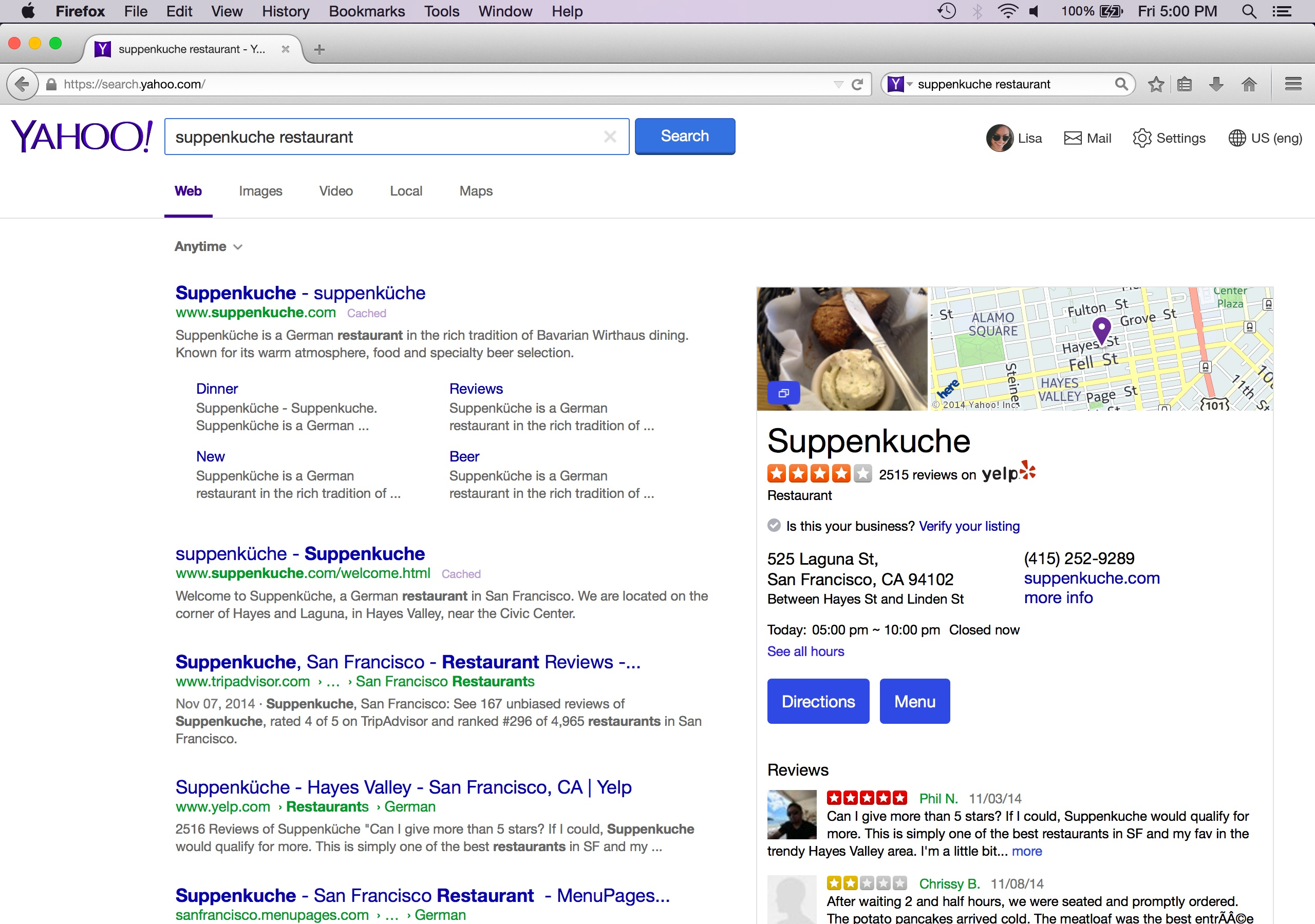 New Search Strategy For Firefox: Promoting Choice