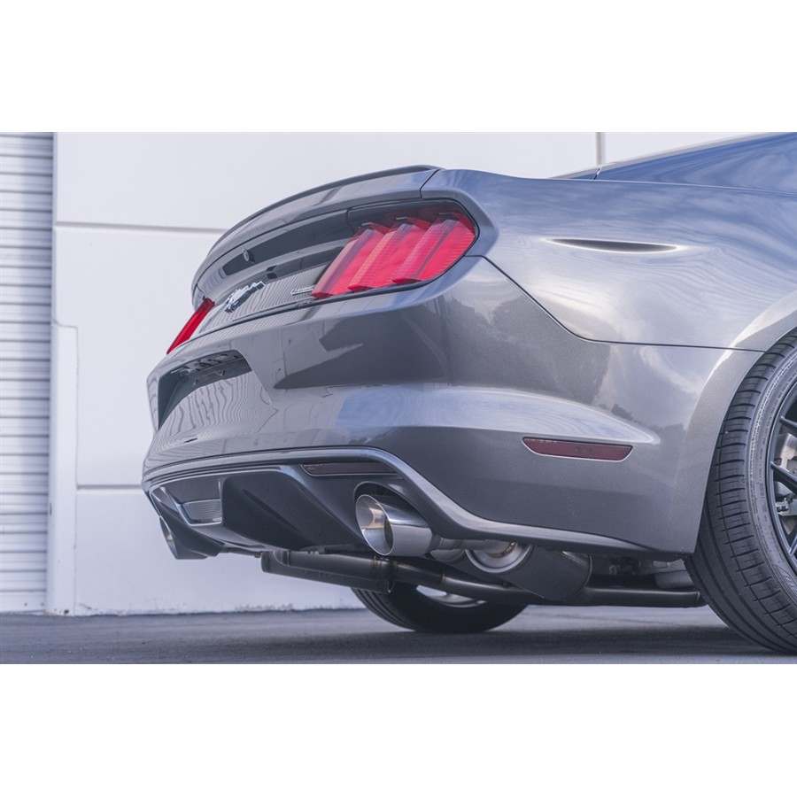 ark performance 2015 2020 ford mustang ecoboost grip cat back exhaust